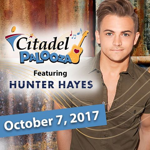 Citadel Palooza will feature Hunter Hayes.