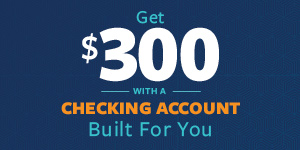 open a checking account