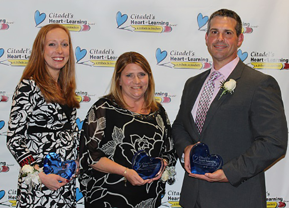 Citadel Federal Credit Union 2016 Citadel Heart of Learning Award