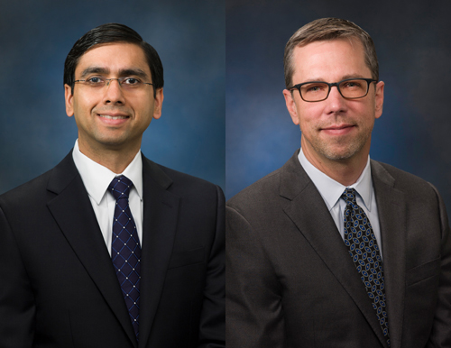 Anand Solanki, CFO, and Philip Faris, SVP of Marketing.