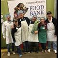 Citadel's IT team at the Chester County Food Bank