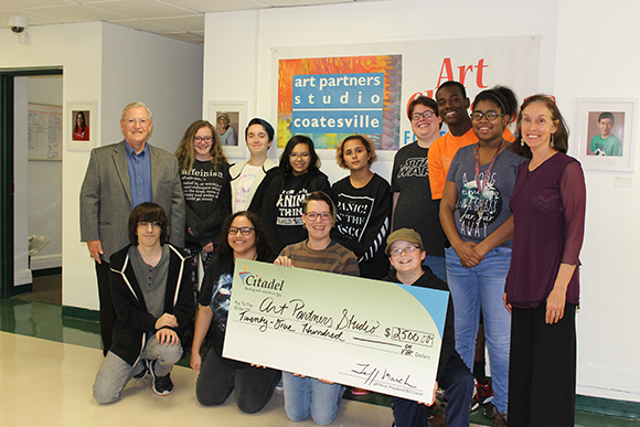 Citadel Supports Coatesville Art Partners Studi