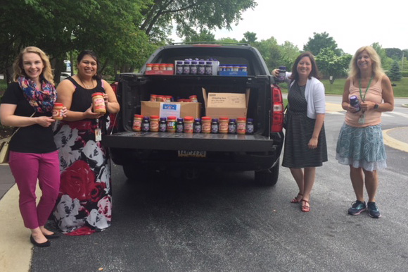 Citadel Employees Donate Over 500 Pounds to PB&J Drive | Citadel