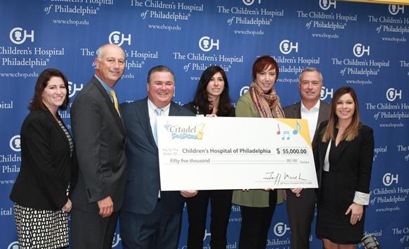 Citadel Donates $55,000 to Children's Hospital Of Philadelphia