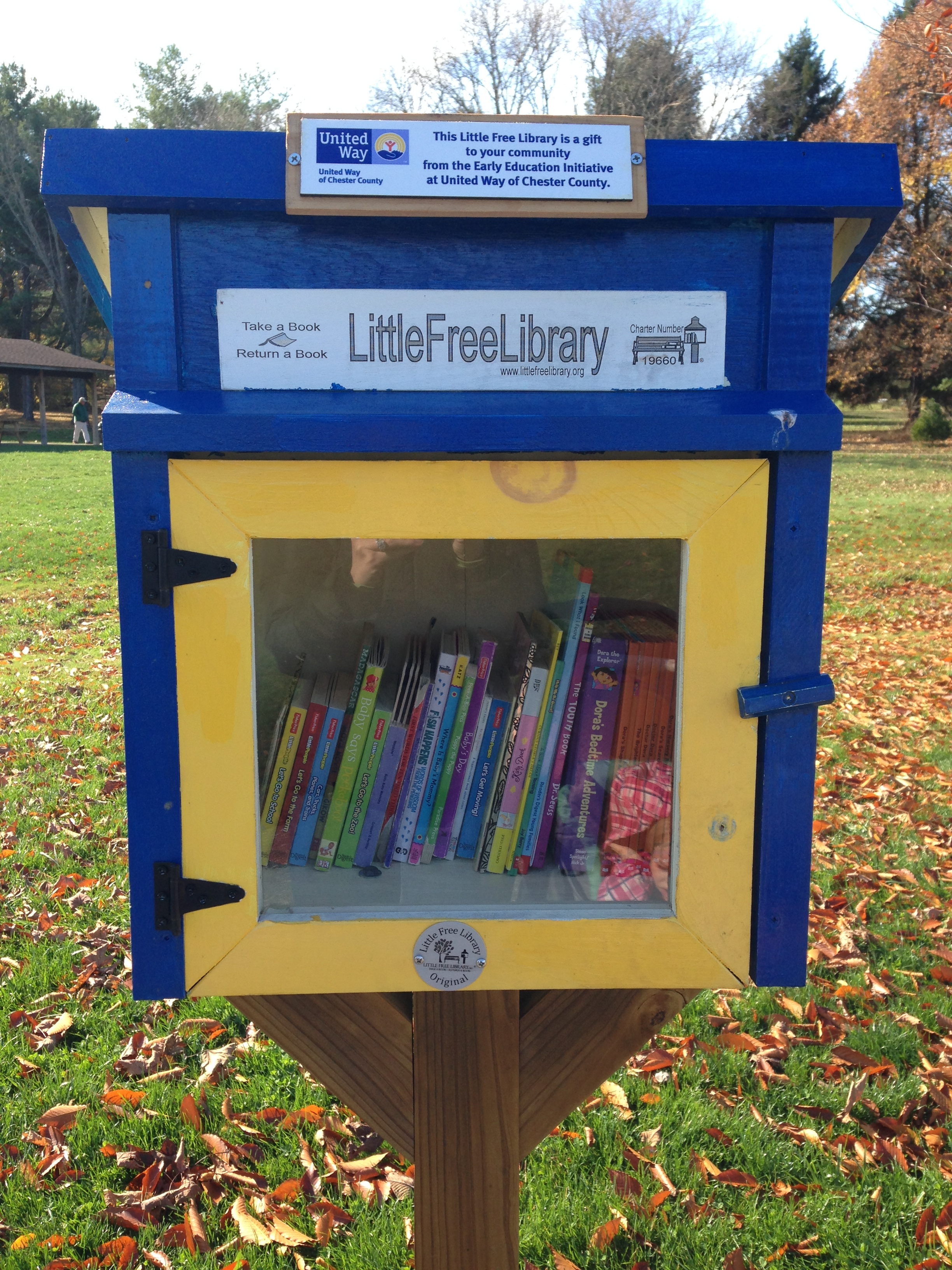 Little Free Library on Struble Trail
