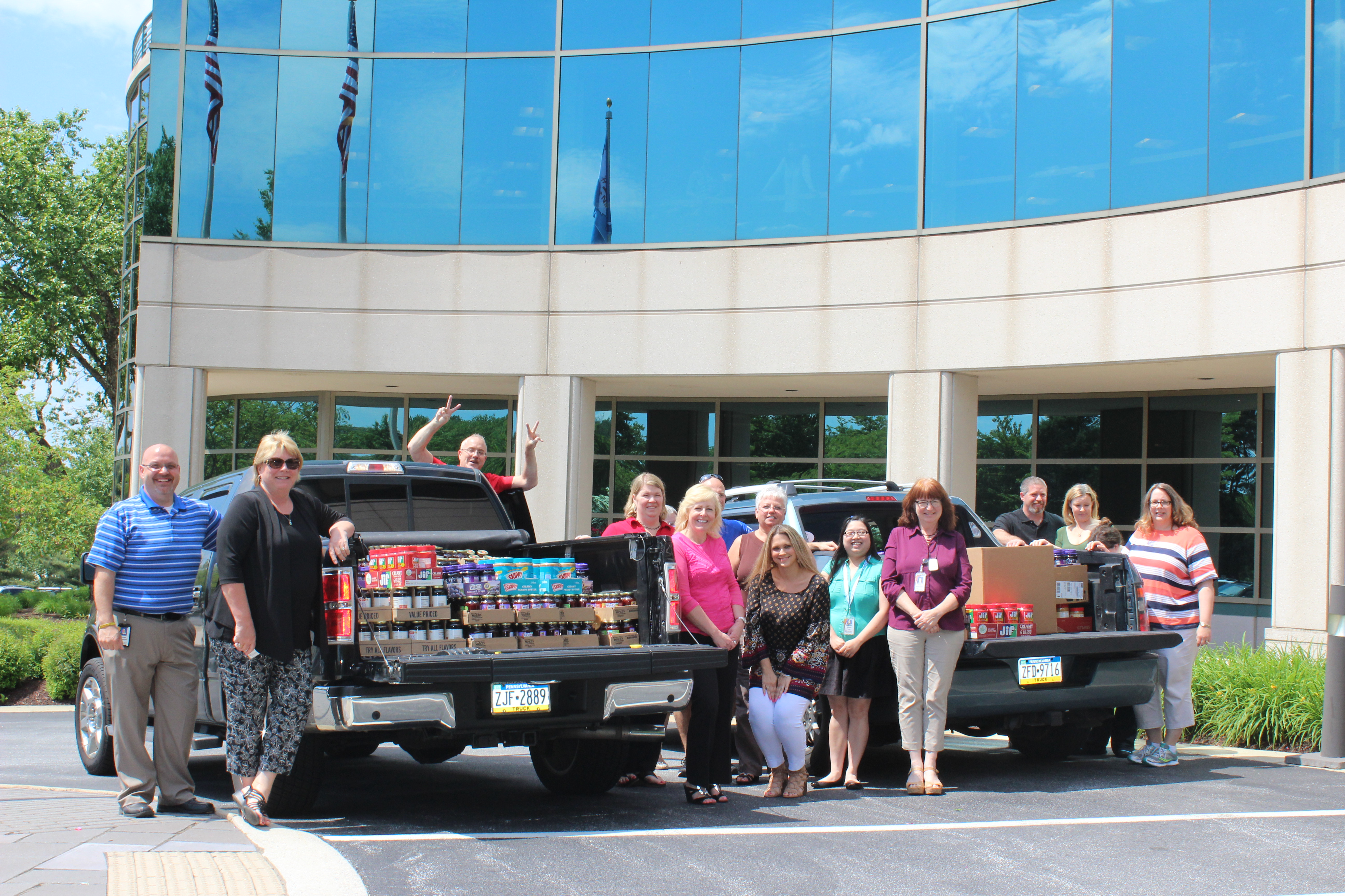 Citadel Employees Contribute More than 2,500 Pounds to PB&J Drive